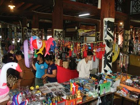 Souvenirs and local products on sell*