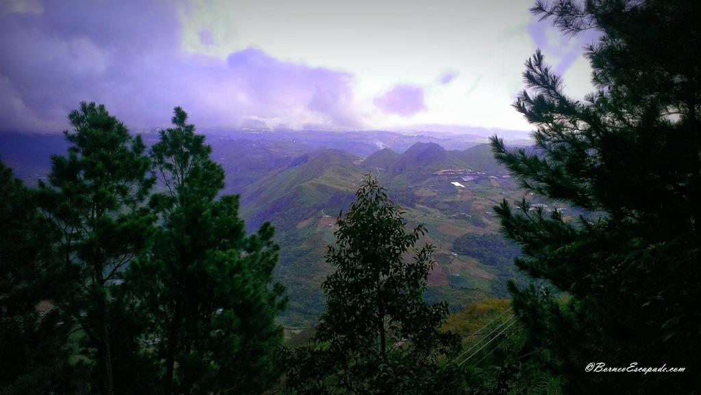 Overlooking Kundasan below