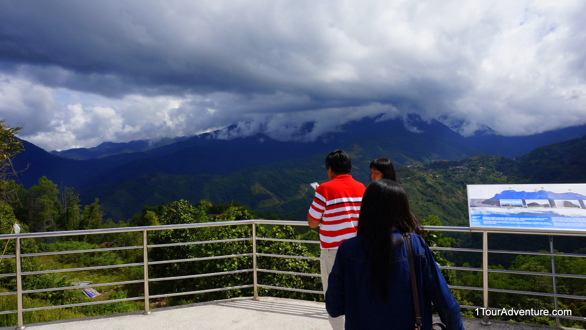 Platform to enjoy the majestic view of Mt. Kinabalu. Unfortunately on the day of visit, it was covered heavily with clouds.