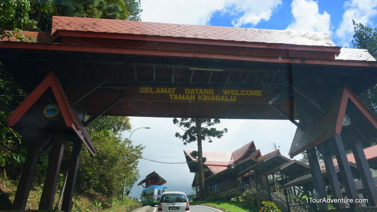 Entrance to Kinabalu Park